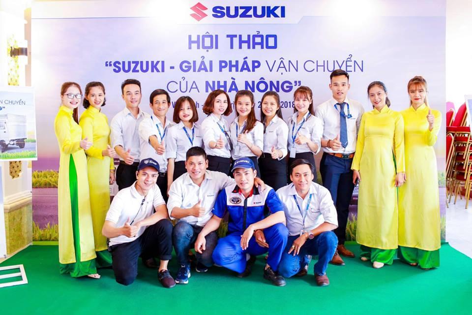 """Tổng kết hội thảo """"Suzuki – Giải pháp vận chuyển của nhà nông"""" tại huyện Vĩnh Linh."""