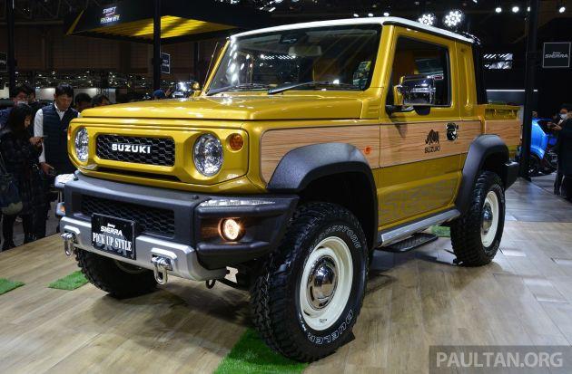 Cận cảnh xe bán tải Suzuki Jimny Sierra Chia sẻ