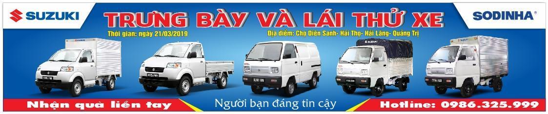 Chương trình lái thử xe tải Suzuki ở Hải Lăng