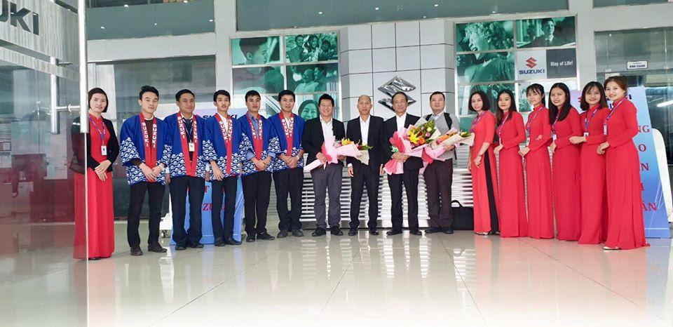 Đoàn lãnh đạo cấp cao của Suzuki Nhật Bản đến Quảng Trị thăm Đại lý